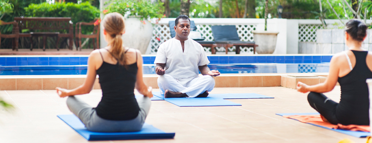 Yoga at Surya Lanka Ayurveda Resort