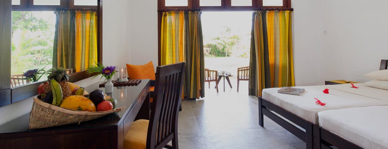Alojamiento en Retiro Ayurveda Surya Lanka
