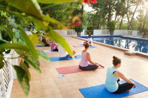 Yoga im Surya Lanka