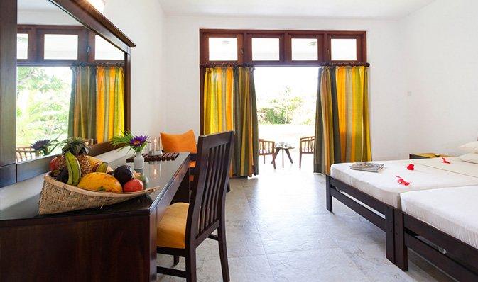 Indkvartering på Surya Lanka Ayurveda Resort