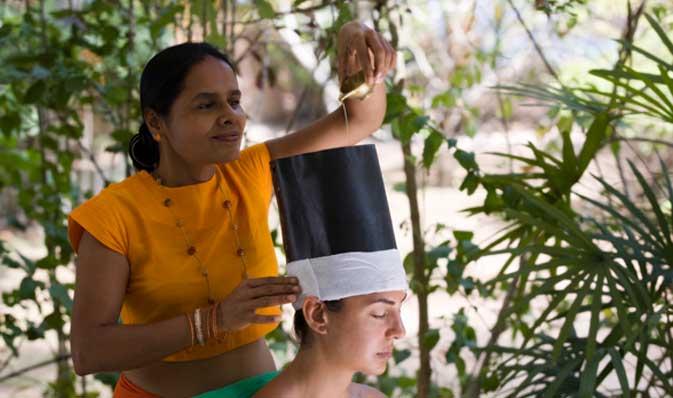 Ayurveda behandling på Sri Lanka